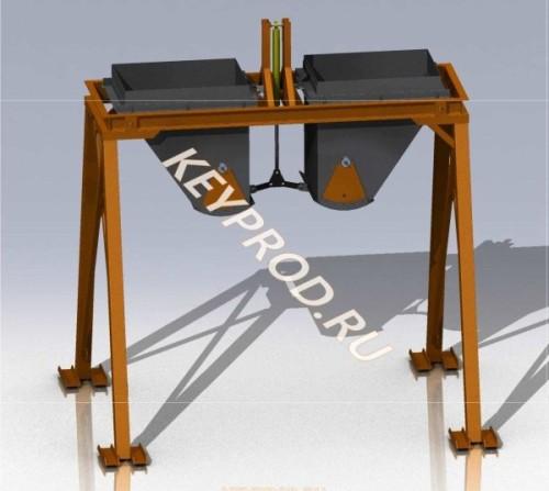 Блоки весовых дозаторов для производства газобетона чертежи скачать