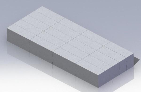 массив газобетона
