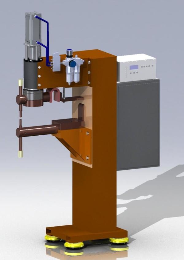 Машина точечной сварки 3D-модель
