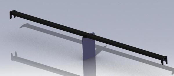 Планка шаблона для продольной резки массива газобетона