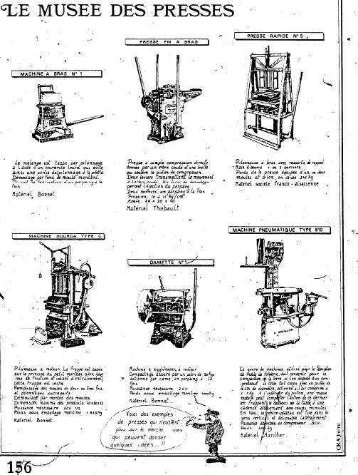 Различные конструкции и история прессов для производства кирпичей (на английском)3