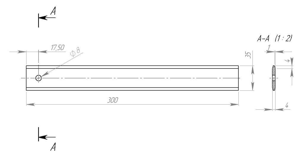 навивочная планка 50-50