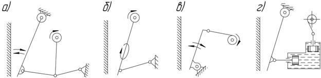 схема щековых дробилок