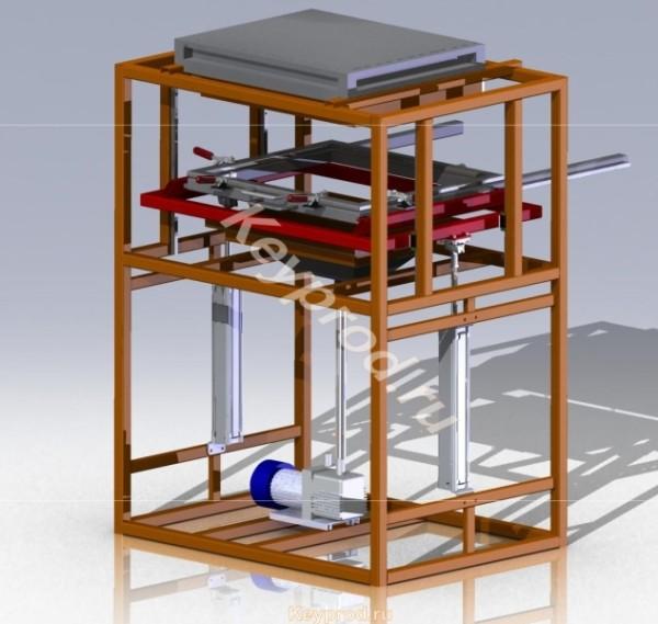 Вакуумная формовочная машина ВФМ-01