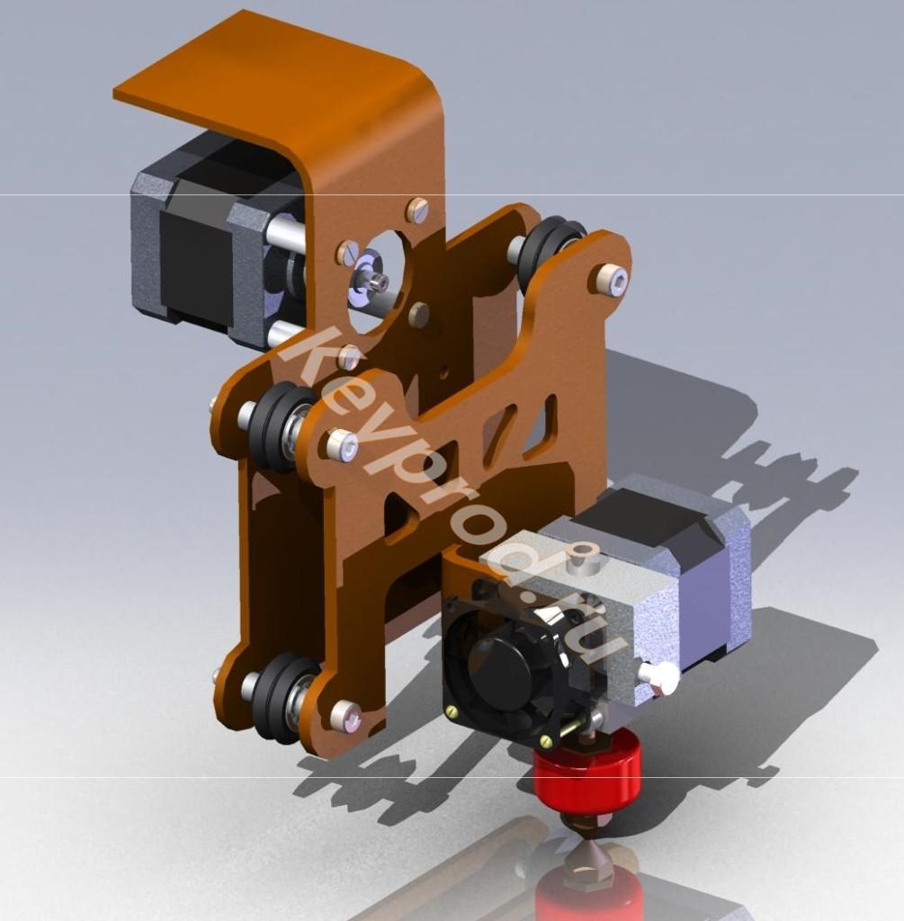 Каретка 3D принтера