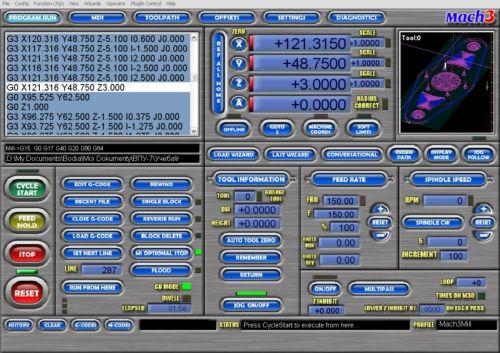 Окно запуск программы (PROGRAM RUN)