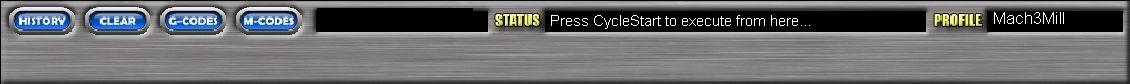 Панель отображения информации и информационные кнопки