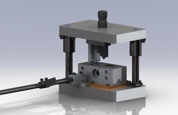Штамп для резки труб 3D-модель чертежи скачать