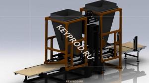 Линия по производству плитки тратуарной