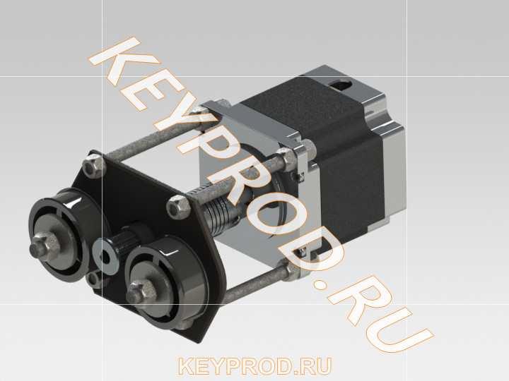 Приводной шкив ременной передачи станка с ЧПУ