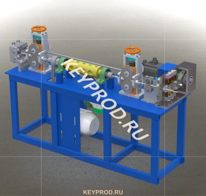 3D-модель провильно отрезной станок