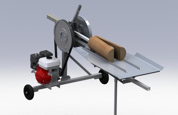 3D-модель дровокола реечного
