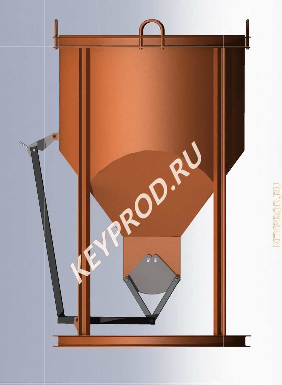 ББ 01.000.00 Бадья для бетона 3-1