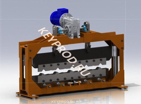 Механическая гильтина для резки профнастила
