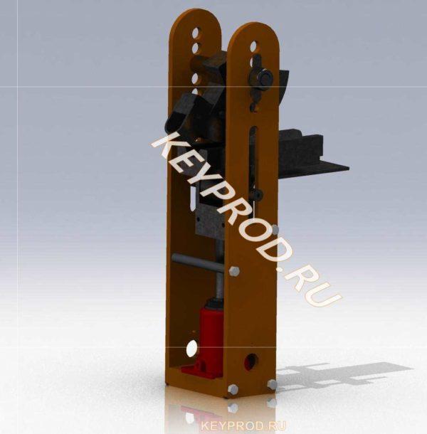 Трубогиб 0D-модель