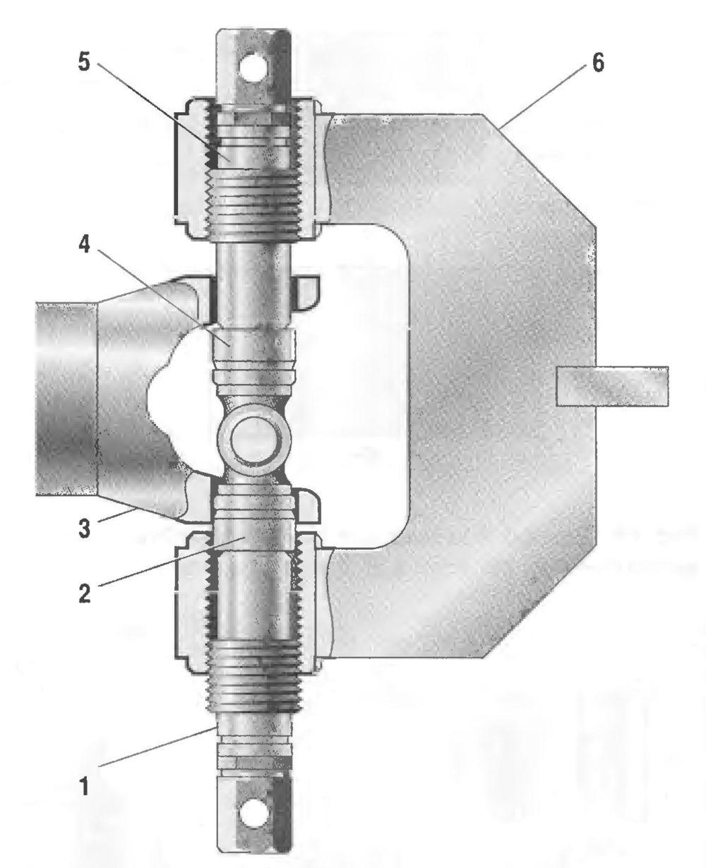 Приспособления для замены игольчатых подшипников карданных шарниров