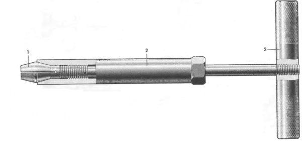 Приспасобление для притирки клапанов