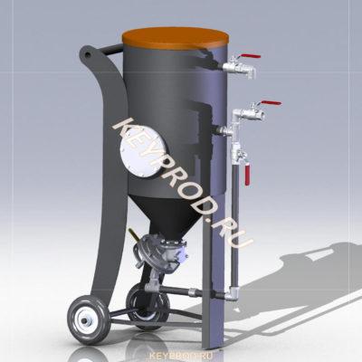 3D-модели и чертежи пескоструйного оборудования