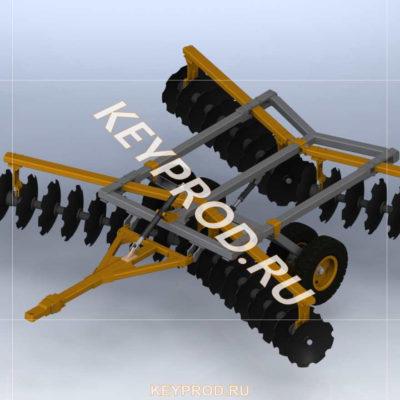 3D-модели и чертежи сельхозтехники
