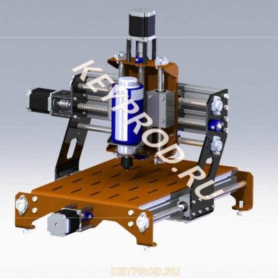 3D-модели и чертежи станков портальных с ЧПУ